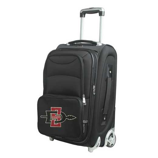 CLSGL203: NCAA San Diego St Aztecs  Carry-On  Rllng Sftsd Nyln
